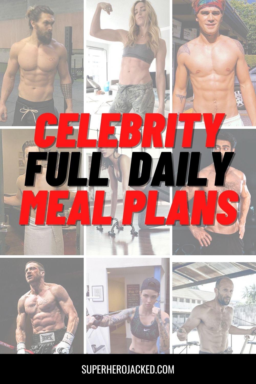 Celebrity Meal Plans