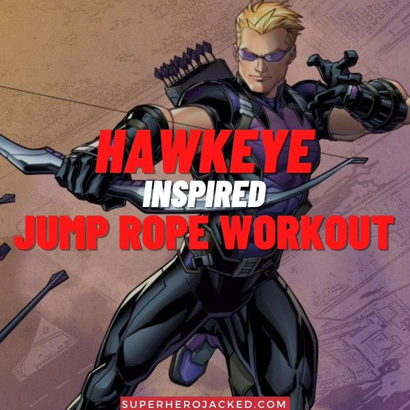 Hawkeye Inspired Jump Rope Workout