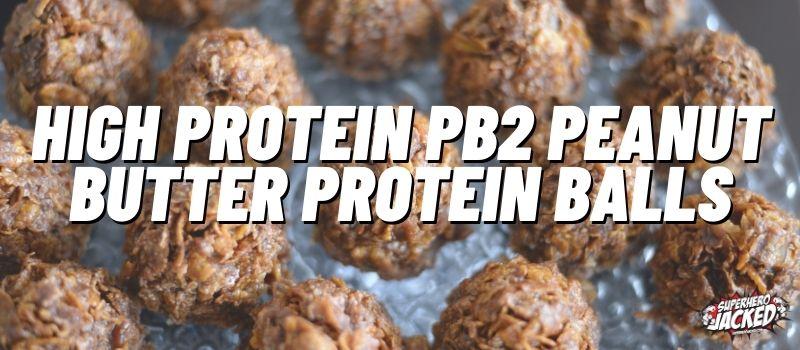 High Protein Energy Balls