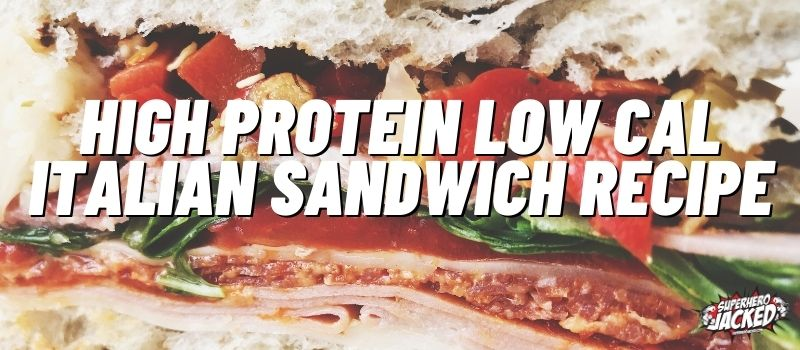 High Protein Low Calorie Sandwich