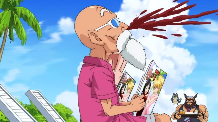 Master Roshi Workout 3