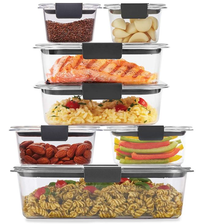 Rubbermaid Meal Prep Container