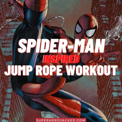 Spider-Man Inspired Jump Rope Workout