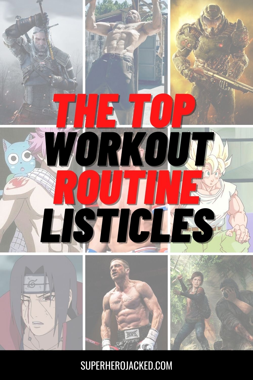Top Workout Listicles