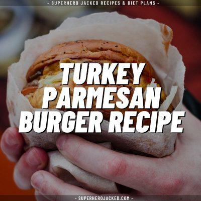 Turkey Parmesan Burger Recipe