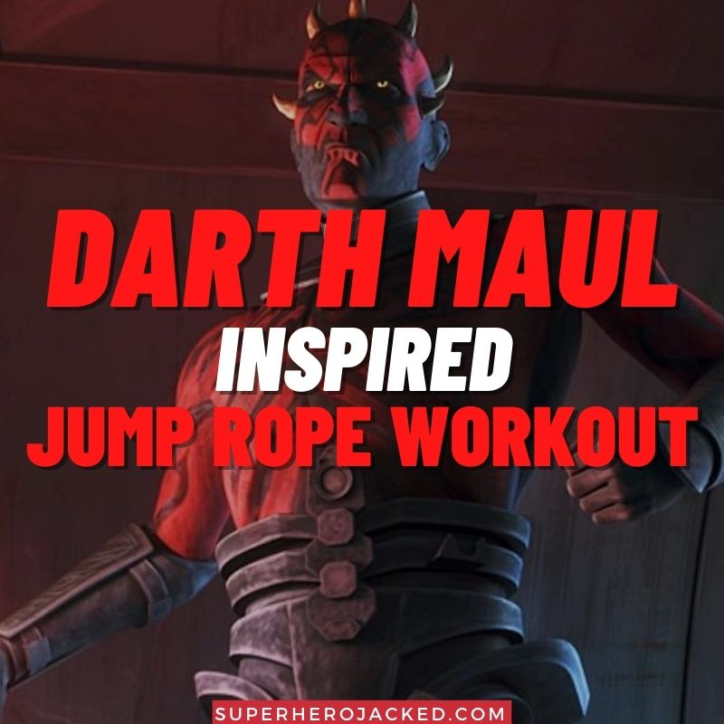 Darth Maul Inspired Jump Rope Workout