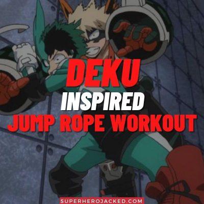 Deku Inspired Jump Rope Workout