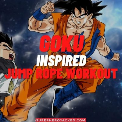 Goku Inspired Jump Rope Workout