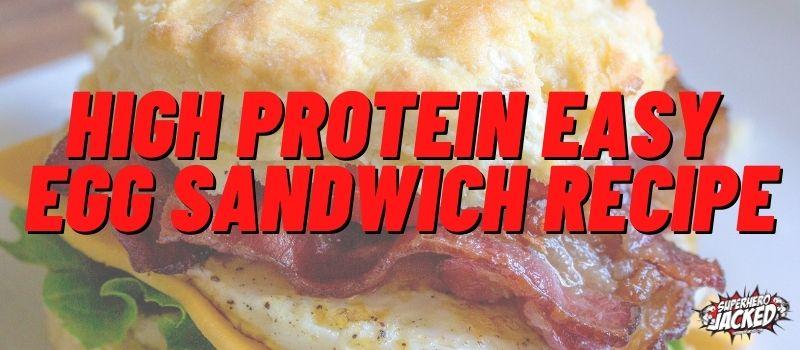 Protein Egg Sandwich