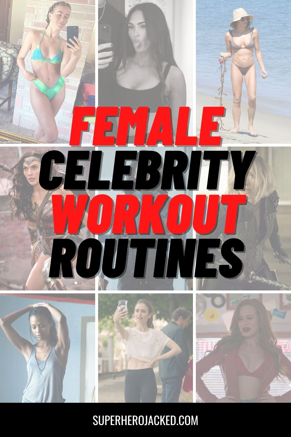 Female Celebrity Workout Routines