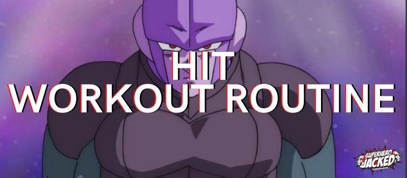 Hit Dragon Ball Super Workout Routine