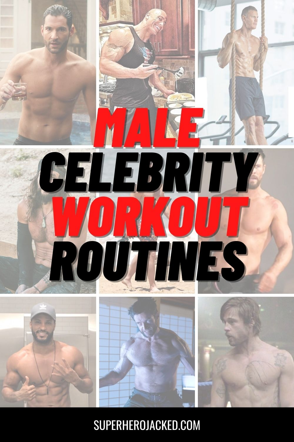 Male Celebrity Workout Routines