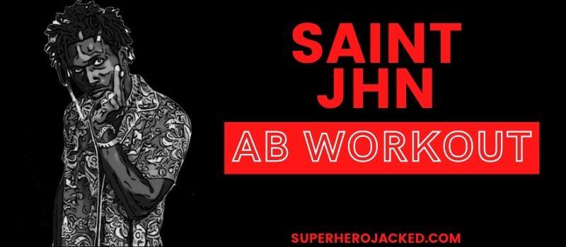 Saint JHN Ab Workout (1)