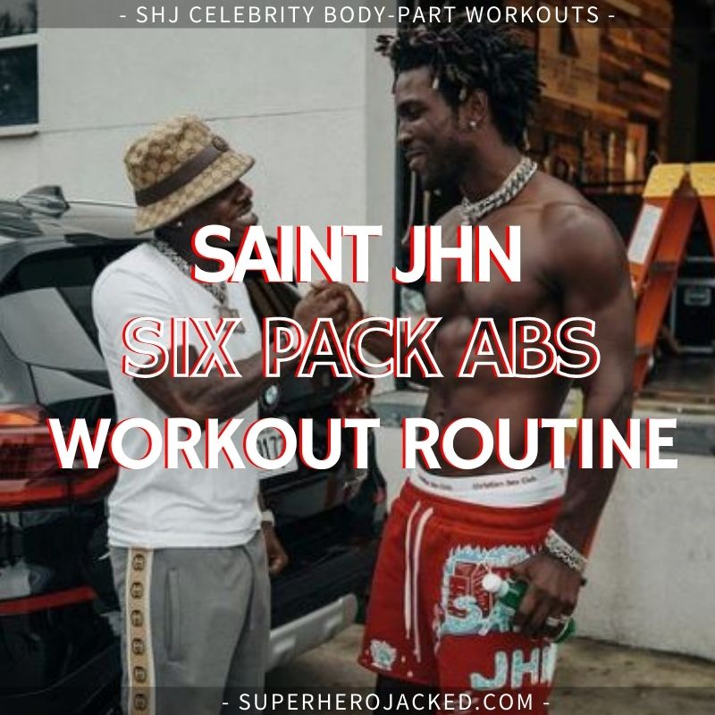 Saint Jhn Ab Workout (2)