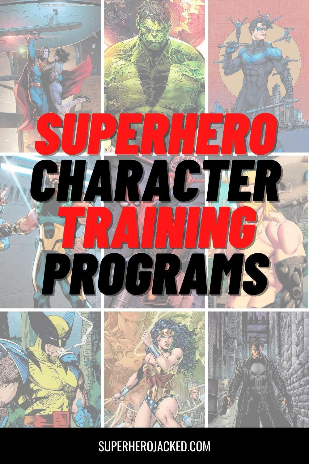 Superhero Character Training Programs