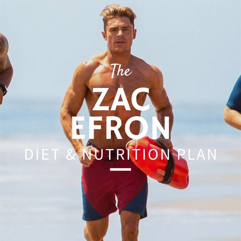 Zac Efron Diet and Nutrition