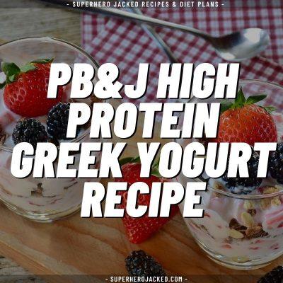 pb&J high protein greek yogurt recipe (1)