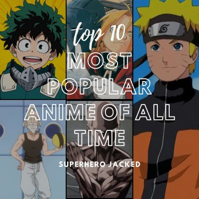 top 10 most popular anime of all time
