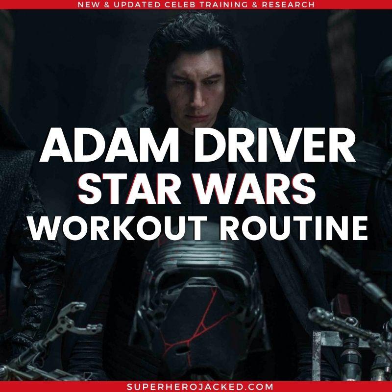 Adam Driver Star Wars Workout