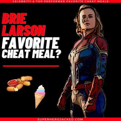 Brie Larson Cheat Meal