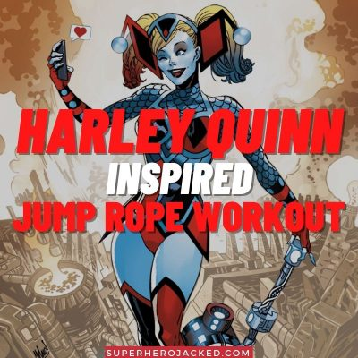 Harley Quinn Inspired Jump Rope Workout