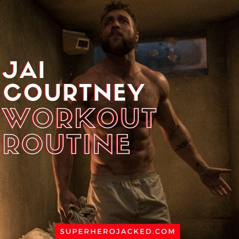 Jai Courtney Workout