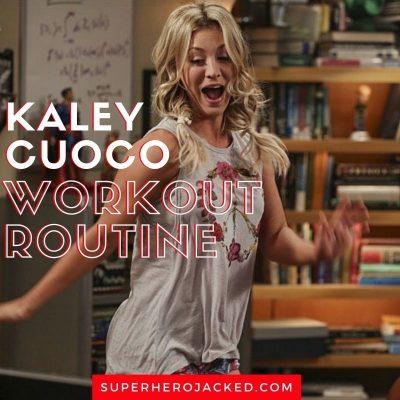 Kaley Cuoco Workout