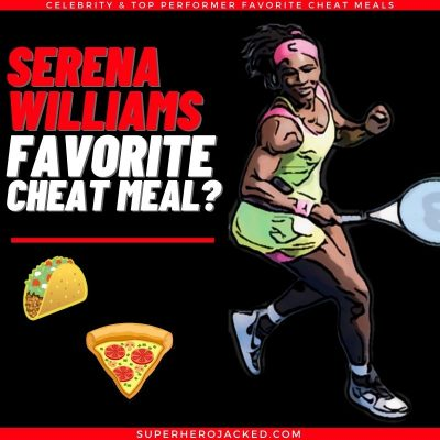 Serena Williams Cheat Meal