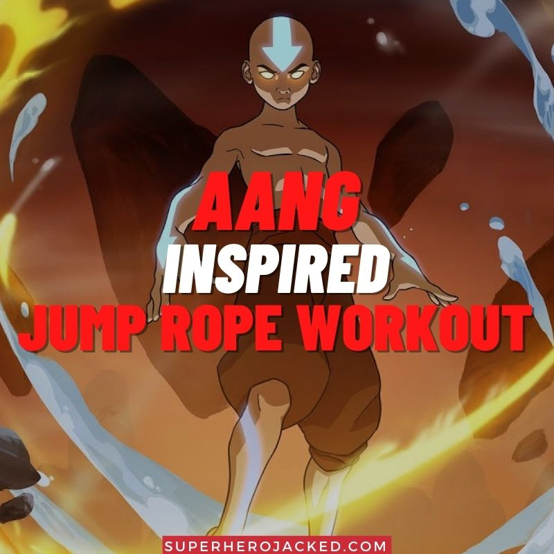 Aang Inspired Jump Rope Workout