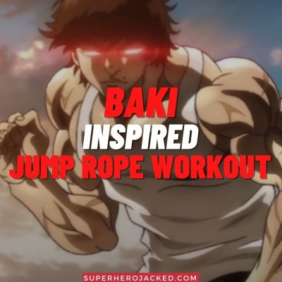 Baki Inspired Jump Rope Workout