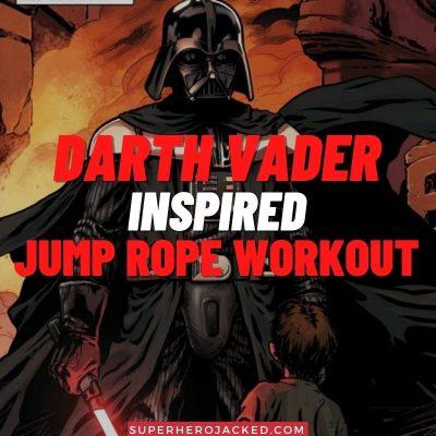 Darth Vader Inspired Jump Rope Workout