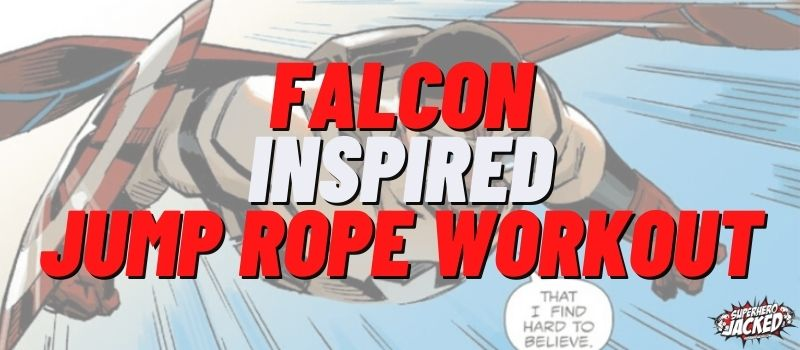 Falcon Inspired Jump Rope Workout Routine