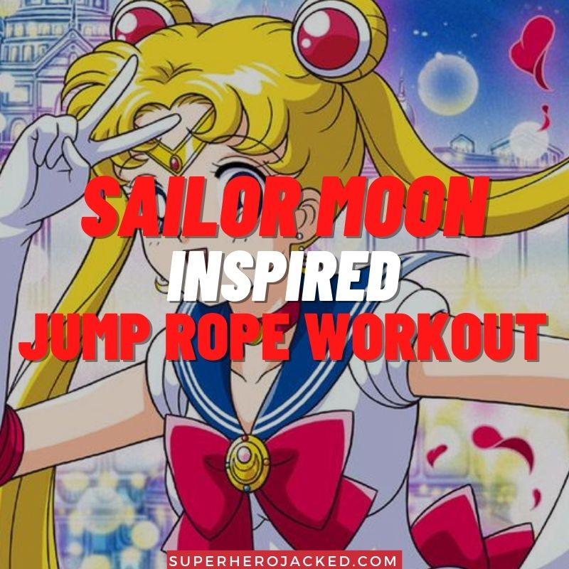 Sailor Moon Inspired Jump Rope Workout