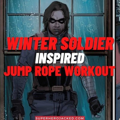 Winter Soldier Inspired Jump Rope Workout