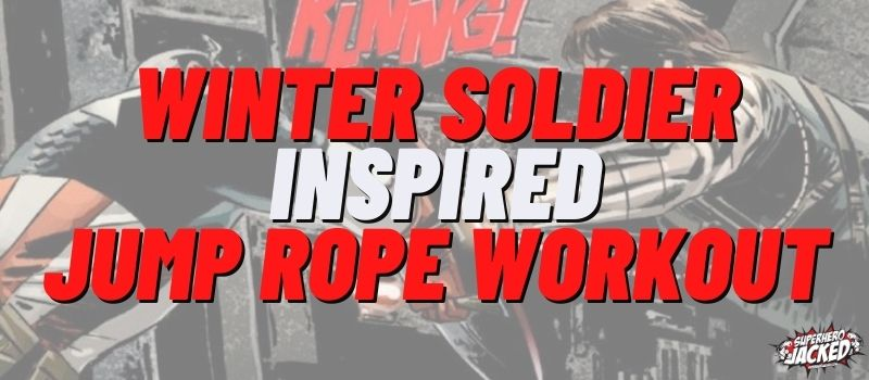 Winter Soldier Inspired Jump Rope Workout Routine