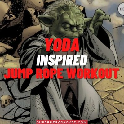Yoda Inspired Jump Rope Workout