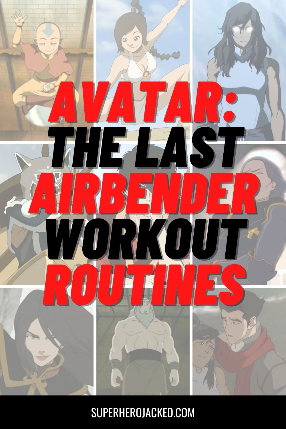 avatar_ the last airbender workouts