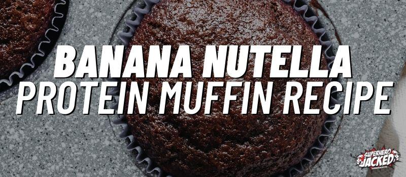 banana nutella protein muffin recipe