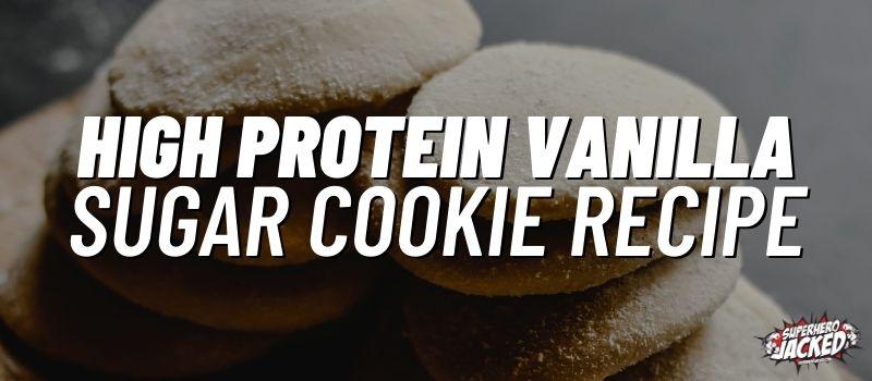 protein sugar cookies recipe
