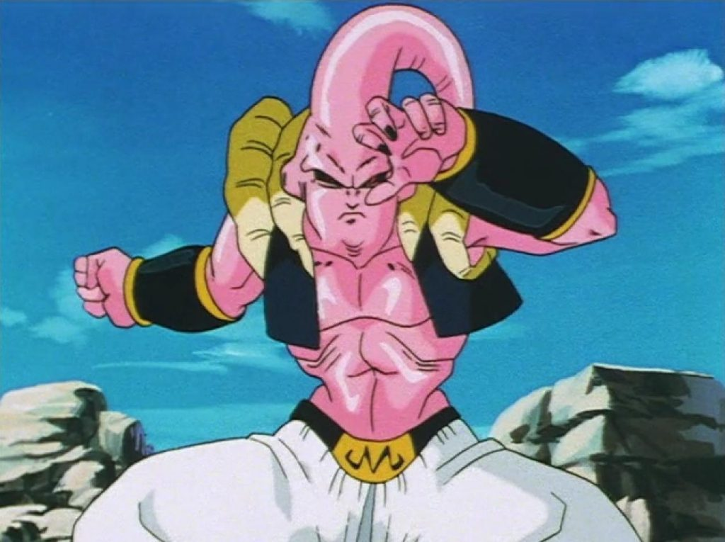 Majin Buu Workout 2